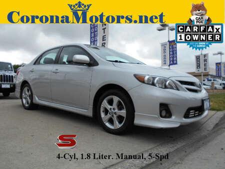 2013 Toyota Corolla S for Sale  - 12399  - Corona Motors