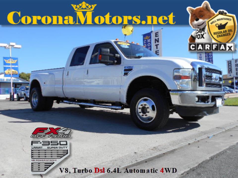 2010 Ford F-350 Lariat  - 12578  - Corona Motors