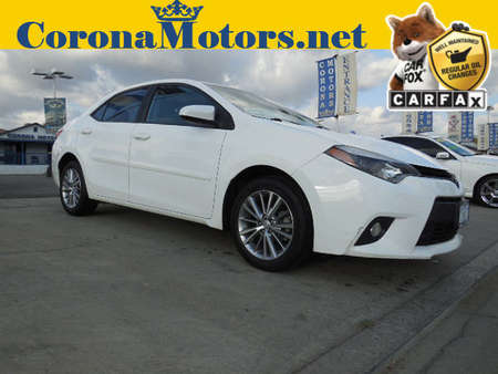 2014 Toyota Corolla LE Plus for Sale  - 12189  - Corona Motors
