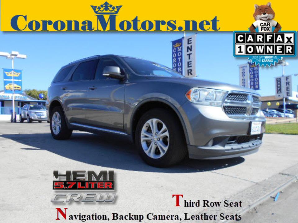 2012 Dodge Durango Crew  - 12579  - Corona Motors