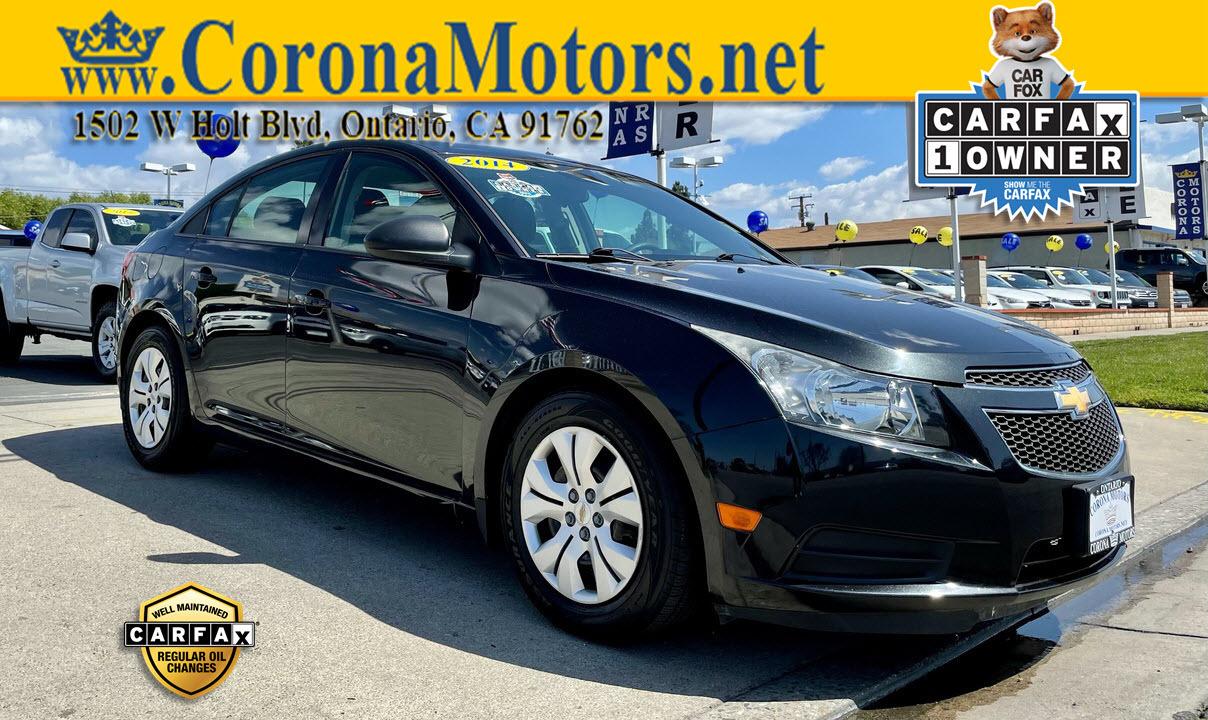 2014 Chevrolet Cruze LS  - 13042  - Corona Motors