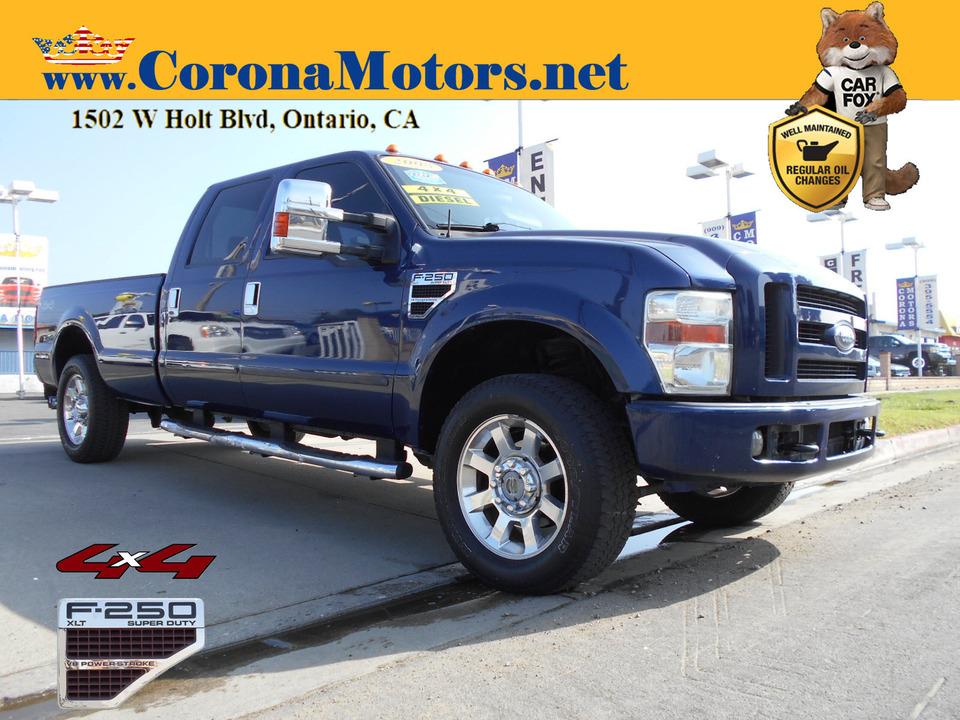 2008 Ford F-250 XLT 4WD  - 13197  - Corona Motors