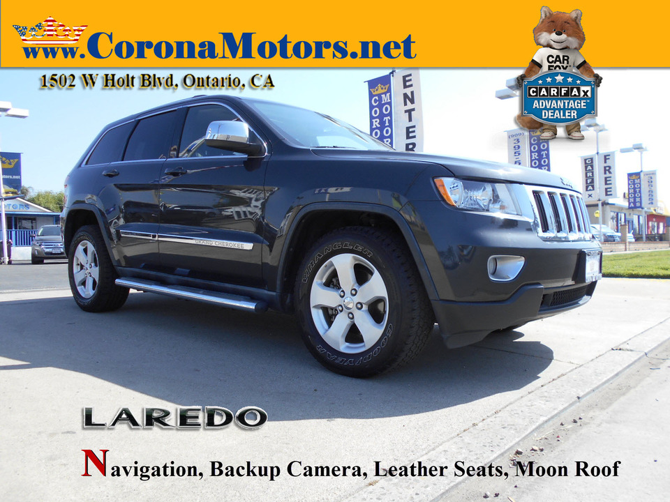 2011 Jeep Grand Cherokee Laredo  - 13063  - Corona Motors