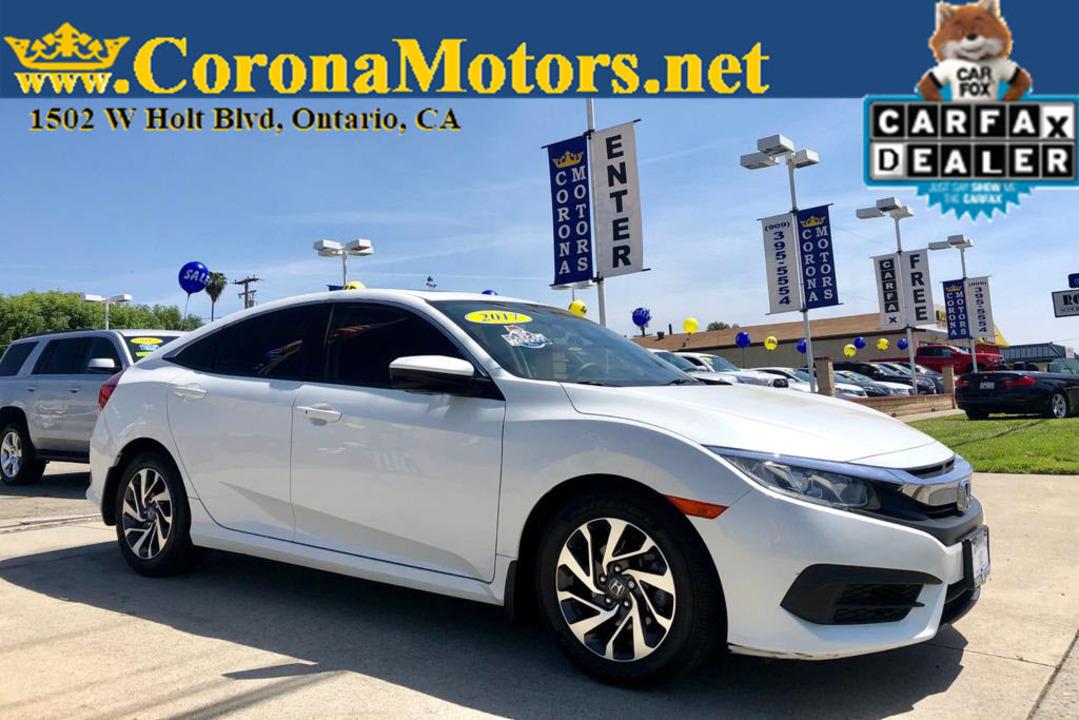 2017 Honda Civic Sedan EX  - 12748  - Corona Motors