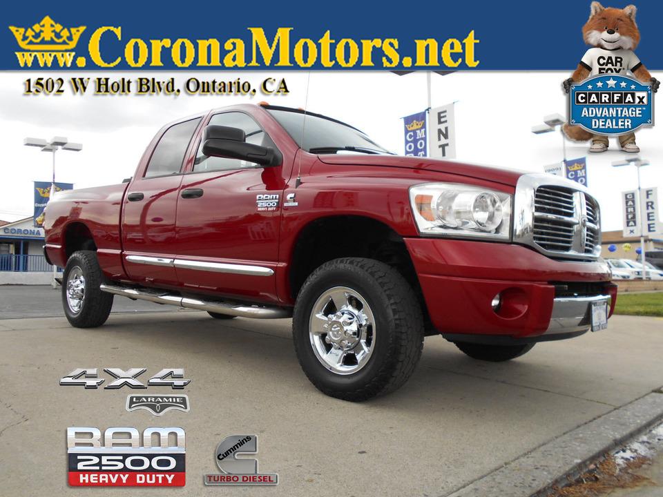 2008 Dodge Ram 2500 Laramie 4X4  - 13047  - Corona Motors