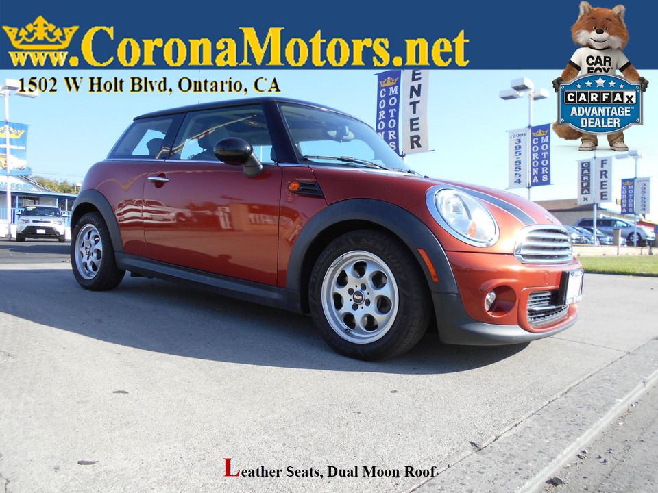 2013 Mini Cooper Hardtop  - 12942  - Corona Motors