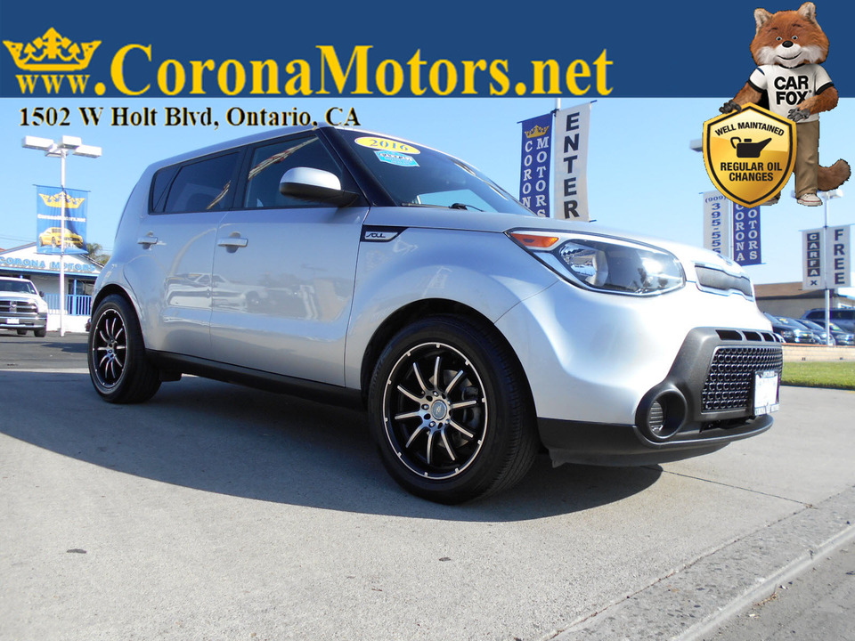 2016 Kia Soul Base  - 12940  - Corona Motors