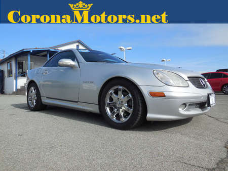 2001 Mercedes-Benz SLK-Class Kompressor for Sale  - 12223  - Corona Motors