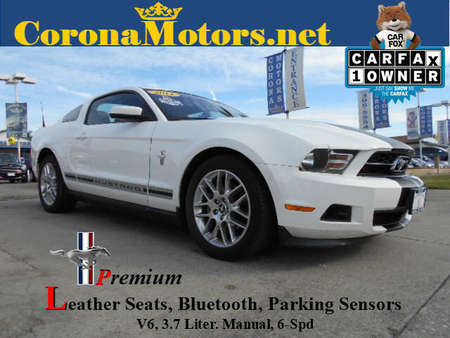 2012 Ford Mustang V6 Premium for Sale  - 12218  - Corona Motors