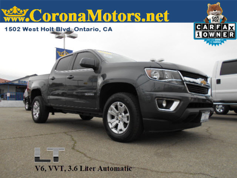 2017 Chevrolet Colorado 2WD LT  - 12654  - Corona Motors