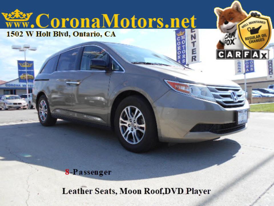 2012 Honda Odyssey EX-L  - 12801  - Corona Motors