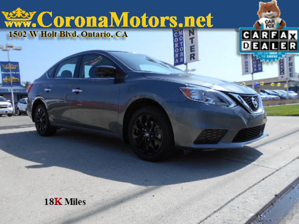 2018 Nissan Sentra S  - 12819  - Corona Motors
