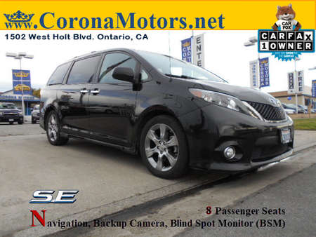 2013 Toyota Sienna SE for Sale  - 12655  - Corona Motors