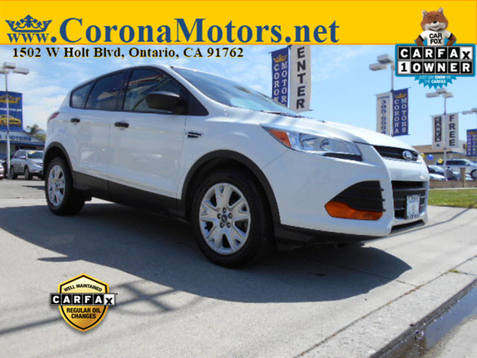 2015 Ford Escape S  - 12789  - Corona Motors