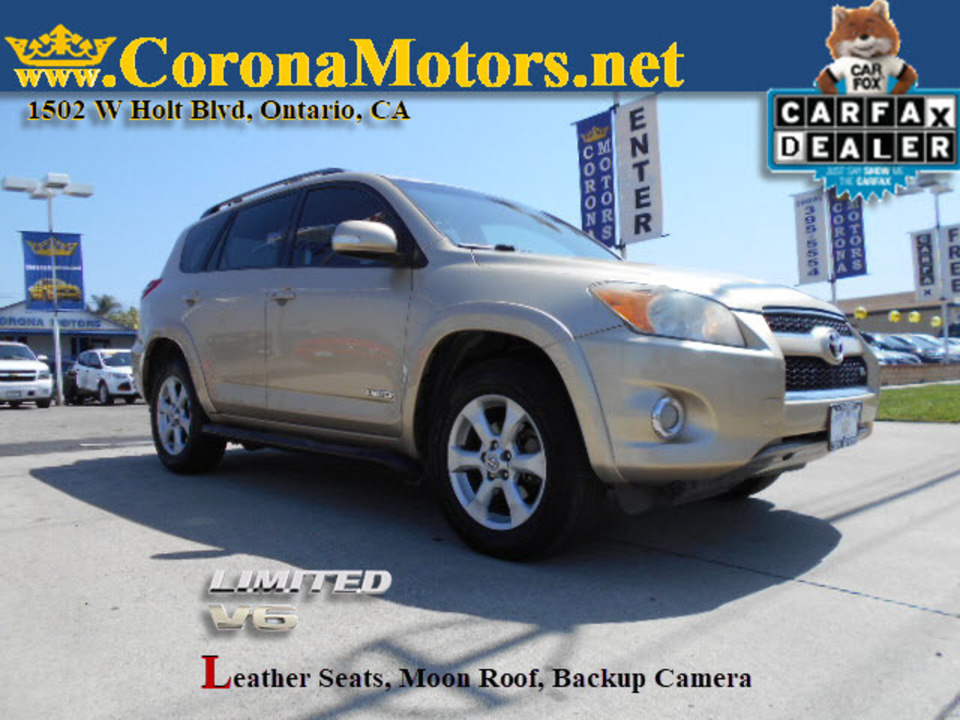 2011 Toyota Rav4 Ltd  - 12823  - Corona Motors