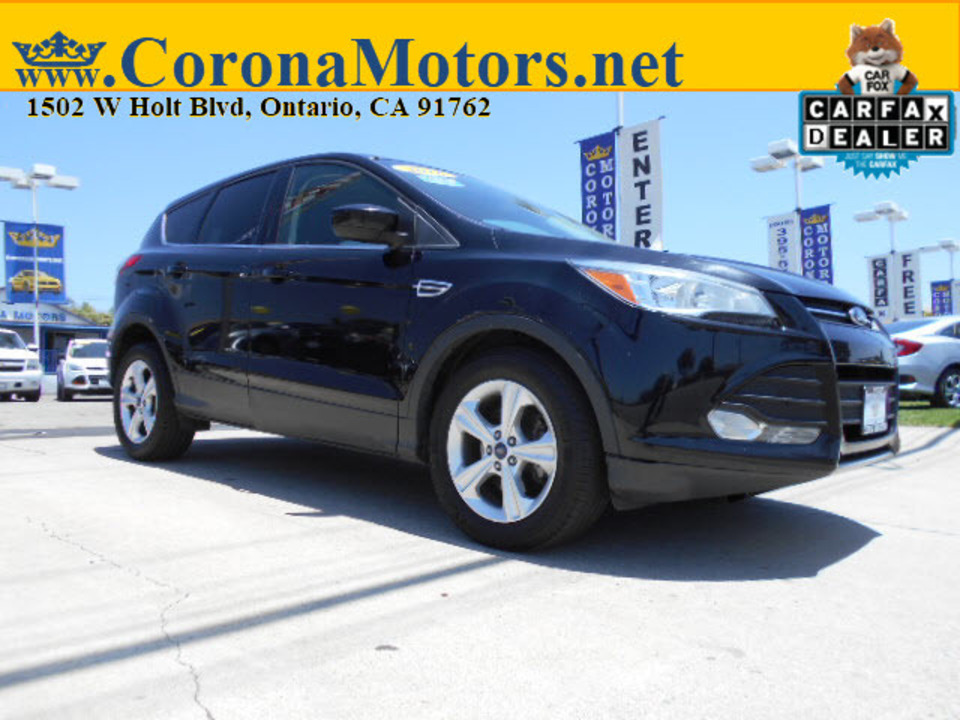 2016 Ford Escape SE  - 12818  - Corona Motors