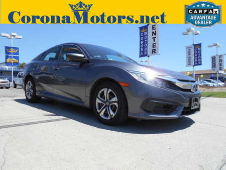 2016 Honda Civic Sedan LX for Sale  - 12512  - Corona Motors