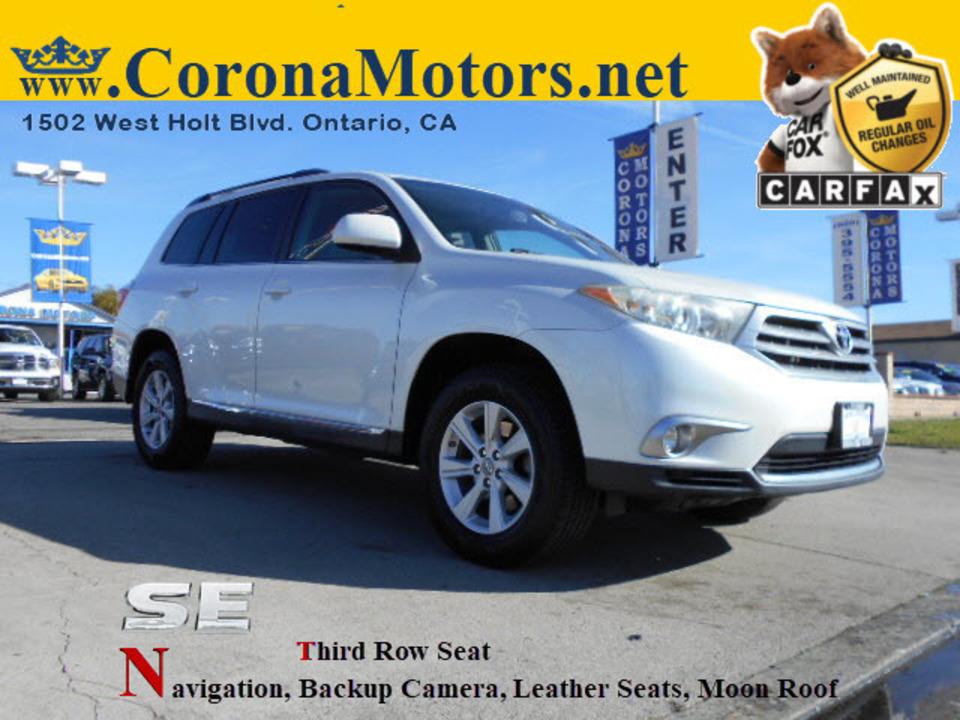 2011 Toyota Highlander  - 12669  - Corona Motors