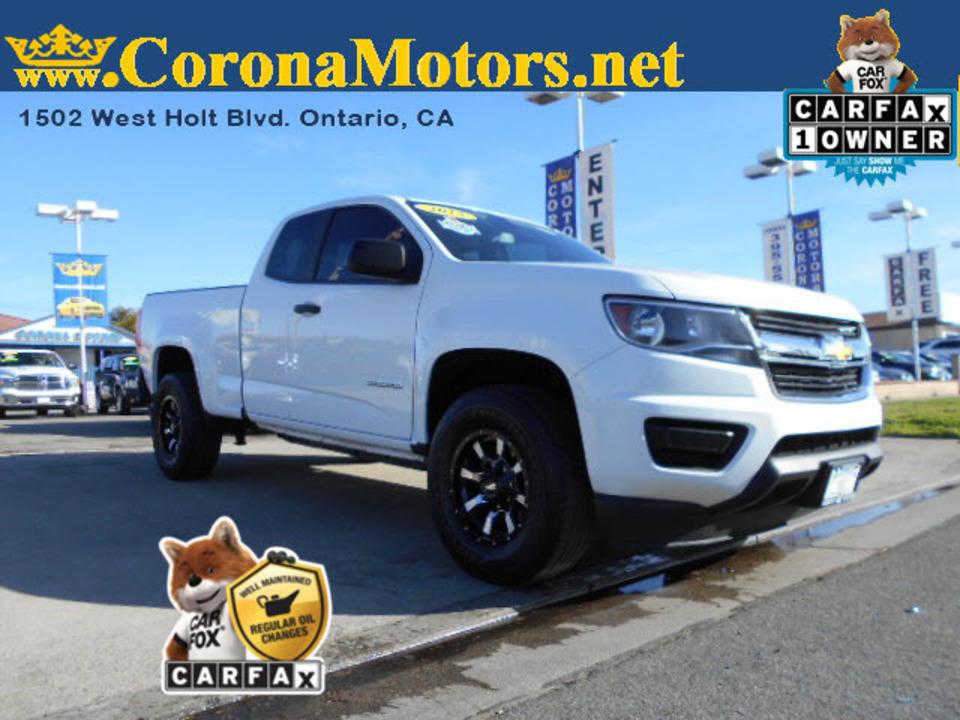 2015 Chevrolet Colorado 2WD WT  - 12666  - Corona Motors