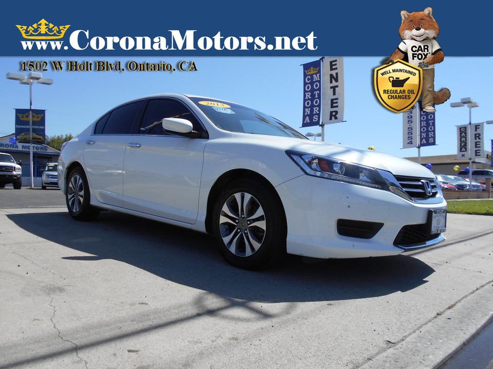 2013 Honda Accord LX  - 13107  - Corona Motors
