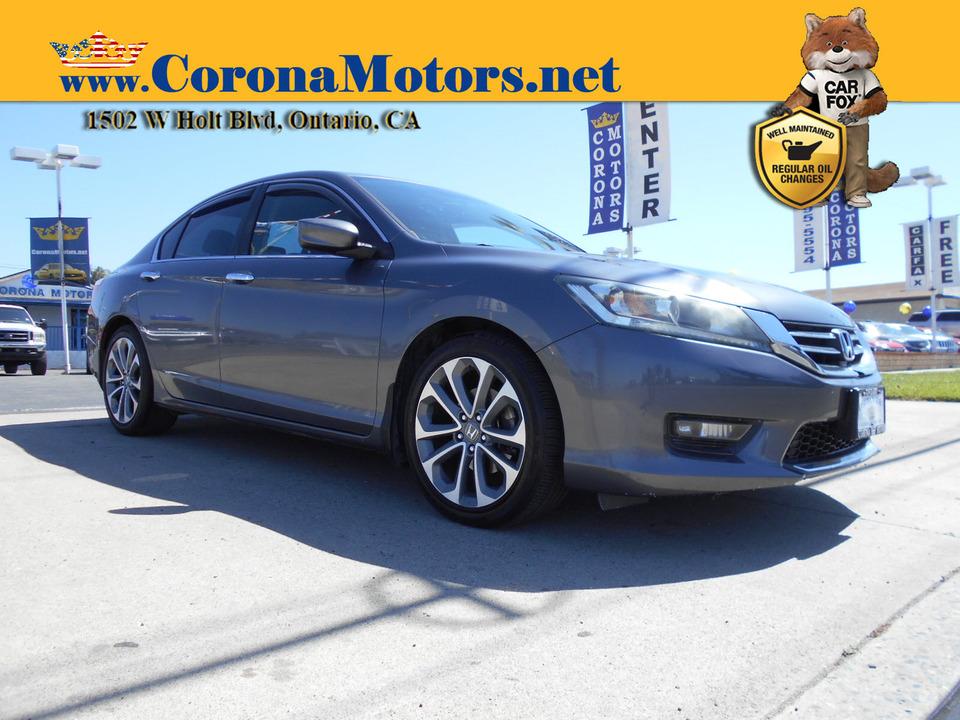 2014 Honda Accord Sedan Sport  - 13109  - Corona Motors