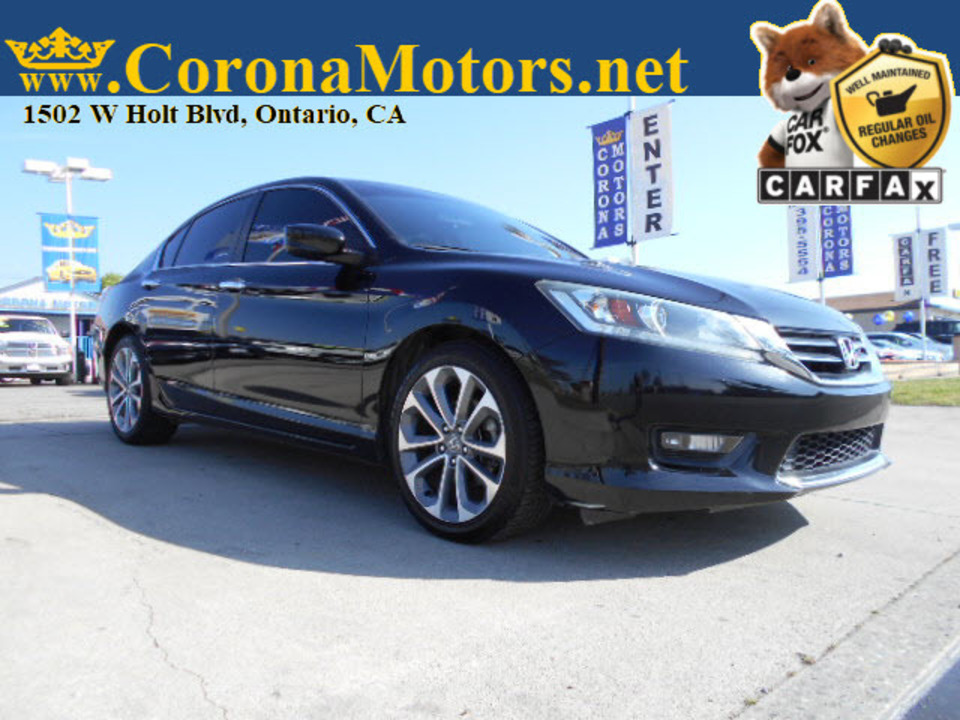 2015 Honda Accord Sedan Sport  - 12699  - Corona Motors