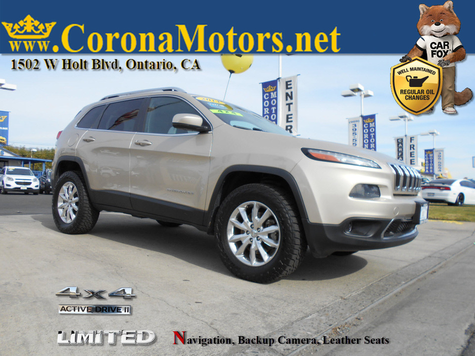 2014 Jeep Cherokee Limited  - 12973  - Corona Motors