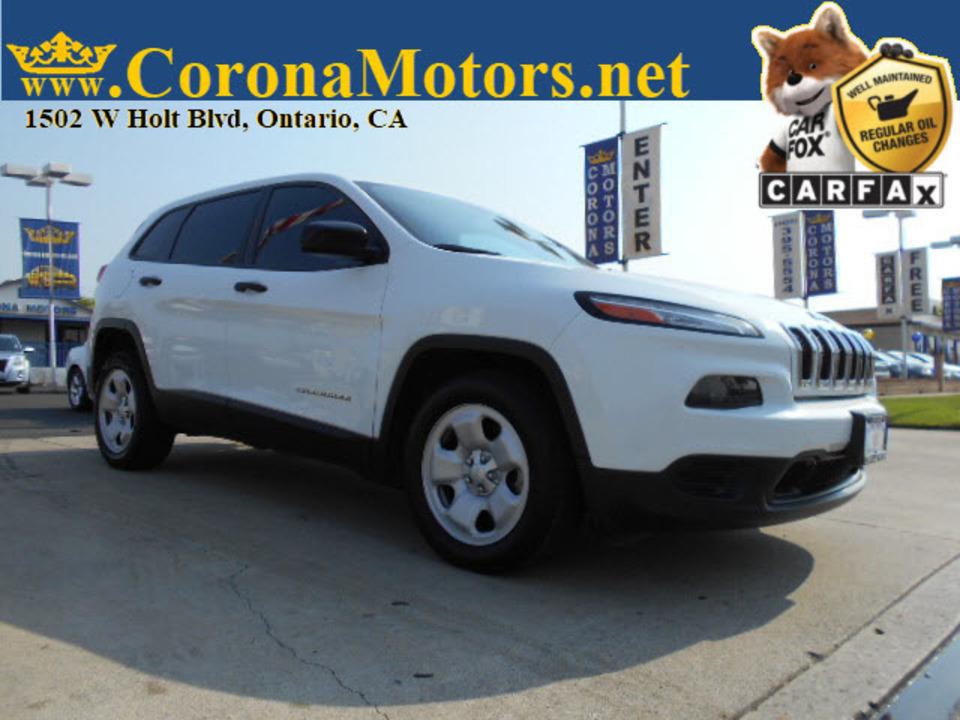 2015 Jeep Cherokee Sport  - 12876  - Corona Motors