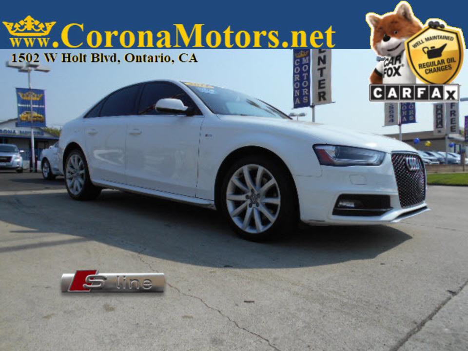2014 Audi A-4 Premium  - 12873  - Corona Motors