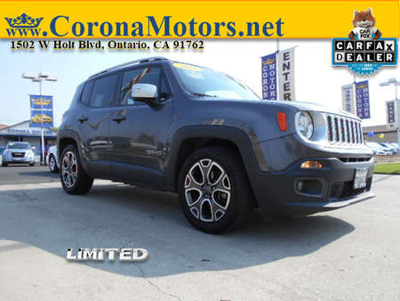 2016 Jeep Renegade Limited for Sale  - 12875  - Corona Motors
