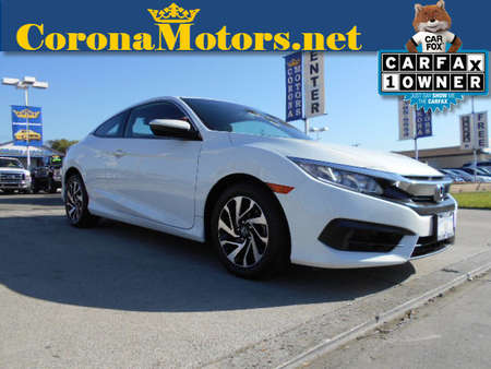 2016 Honda Civic Coupe LX-P for Sale  - 12551  - Corona Motors