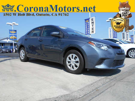 2016 Toyota Corolla  for Sale  - 12734  - Corona Motors