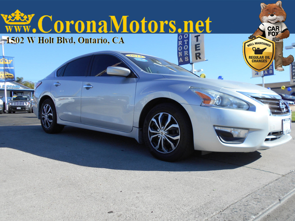 2014 Nissan Altima 2.5 S  - 12896  - Corona Motors