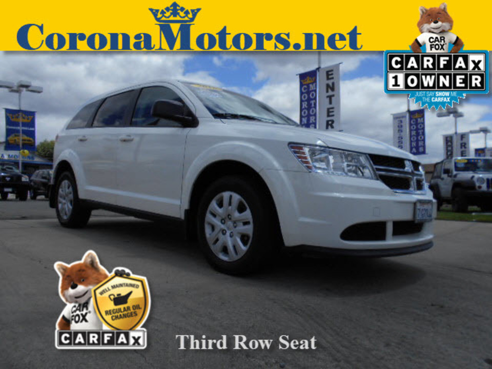 2015 Dodge Journey American Value Pkg  - 12440  - Corona Motors