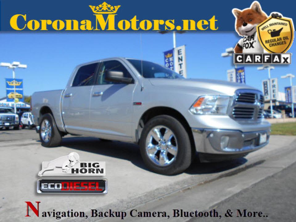2015 Ram 1500 Big Horn  - 12599  - Corona Motors