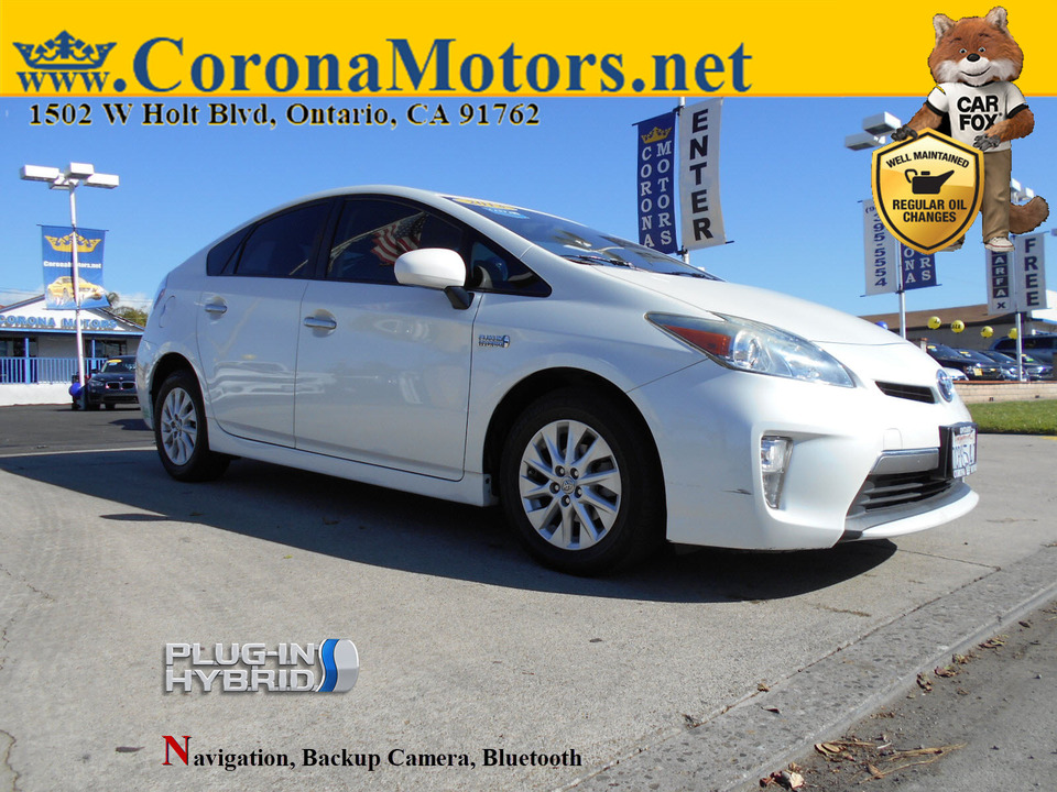 2013 Toyota Prius Plug-In Advanced  - 12937  - Corona Motors