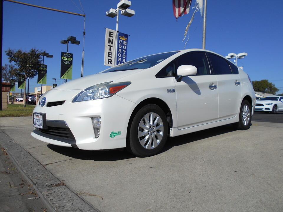 2013 Toyota Prius Plug-In  - Corona Motors