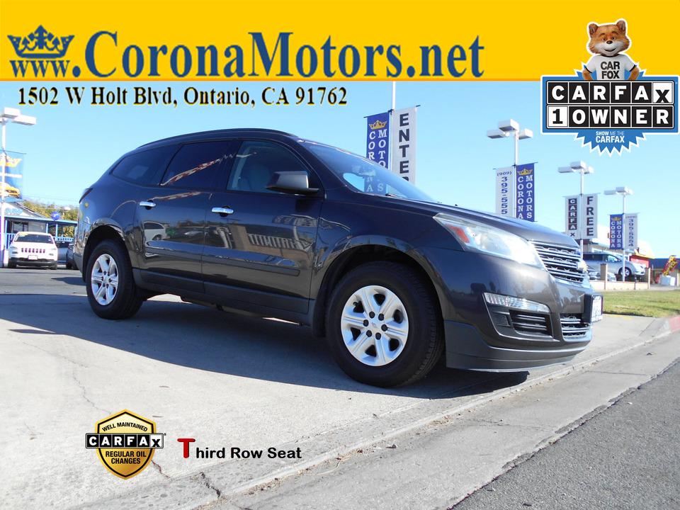 2015 Chevrolet Traverse LS  - 12954  - Corona Motors