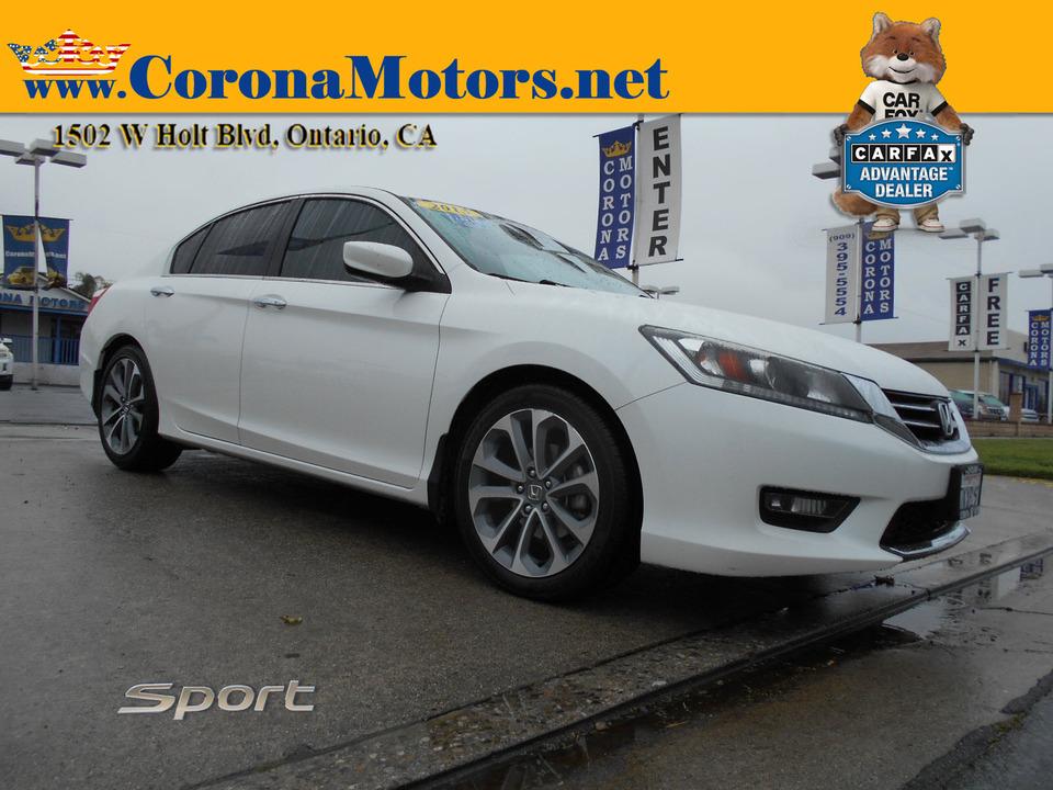 2015 Honda Accord Sedan Sport  - 13056  - Corona Motors