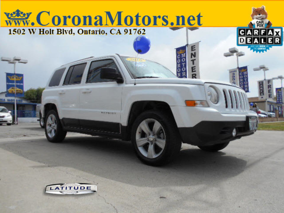2016 Jeep Patriot Latitude  - 12772  - Corona Motors