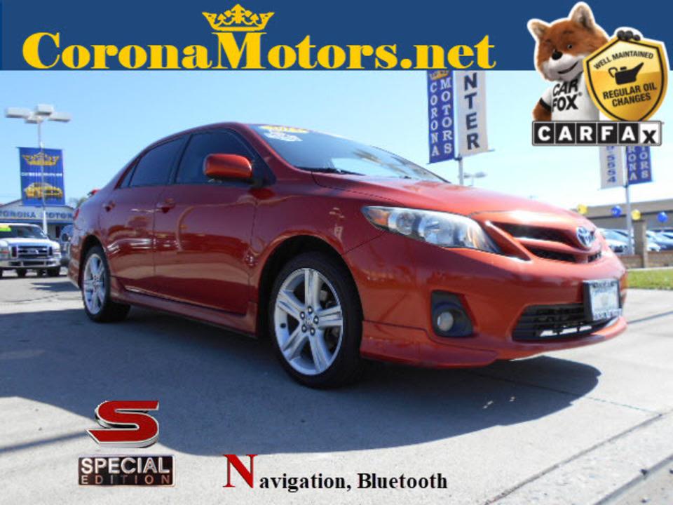 2013 Toyota Corolla  - Corona Motors