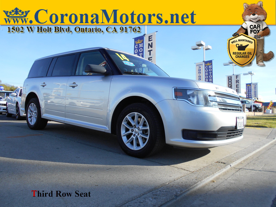 2014 Ford Flex SE  - 12980  - Corona Motors