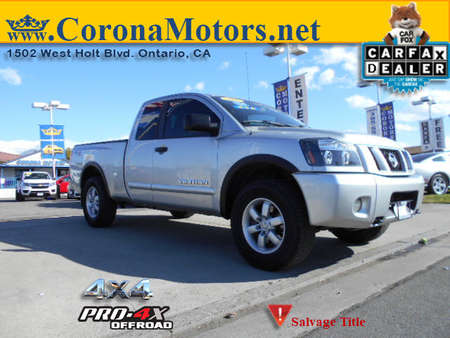 2008 Nissan Titan PRO-4X for Sale  - 12646  - Corona Motors