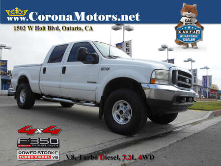 2002 Ford F-350 Lariat 4wd for Sale  - 13078  - Corona Motors