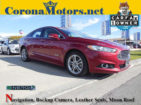 2015 Ford Fusion Energi Titanium for Sale  - 12266  - Corona Motors