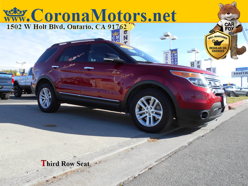 2015 Ford Explorer XLT  - 12991  - Corona Motors