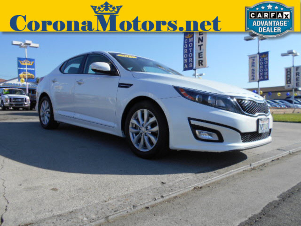 2015 Kia Optima LX  - 12554  - Corona Motors