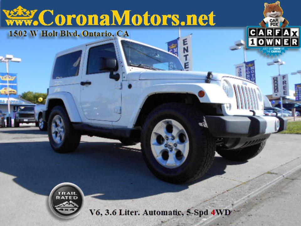 2014 Jeep Wrangler Sahara  - 12705  - Corona Motors