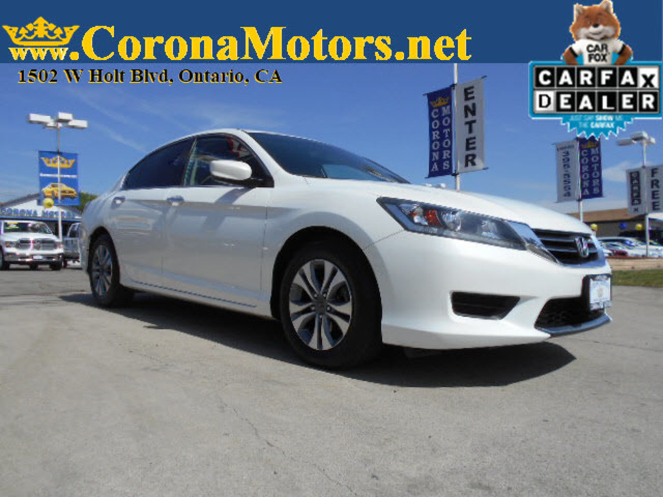 2014 Honda Accord Sedan LX  - 12723  - Corona Motors