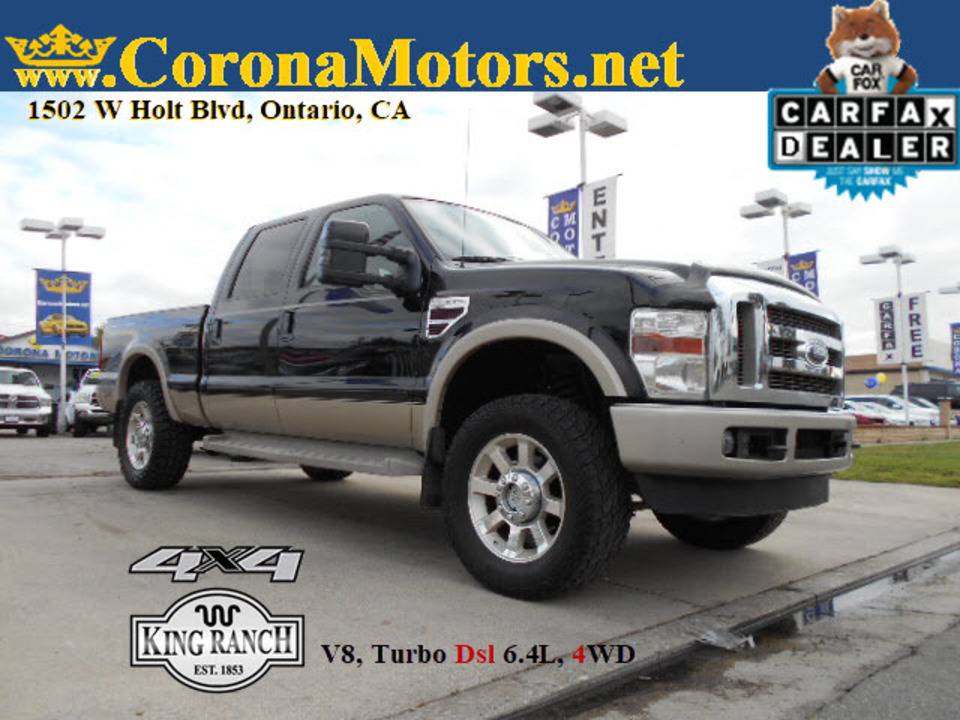 2008 Ford F-250 King Ranch  - 12736  - Corona Motors
